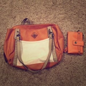 Simply Vera Vera Wang purse with matching wallet